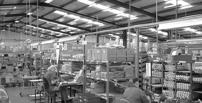 A photo of the Caldwell UK Factory