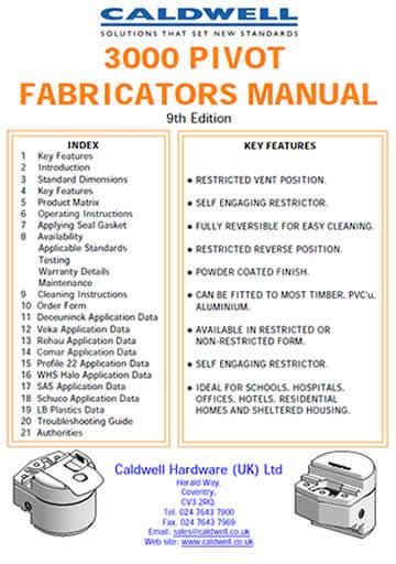 3000 Pivot Fabricators Manual