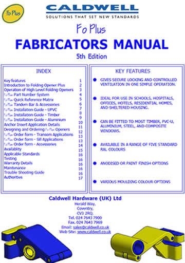 FoPlus Fabricators Manual