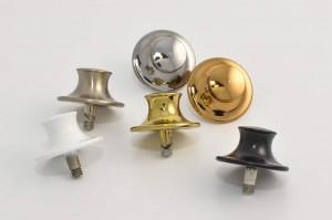 Decorative hardware for vertical sliders