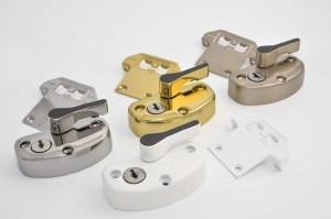 Vertical slider security locks