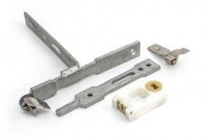 Standard sash window tilt restrictor