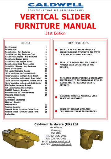 VS Furniture Manual