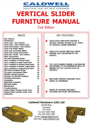 VS Furniture Manual