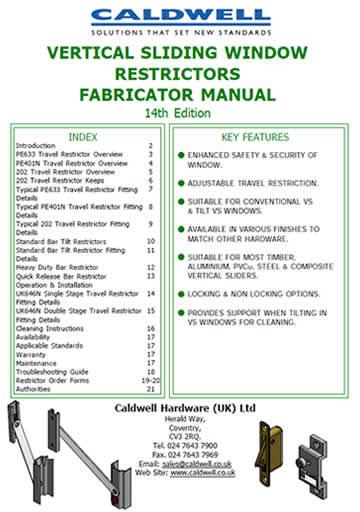 VS Restrictors Fabricators Manual