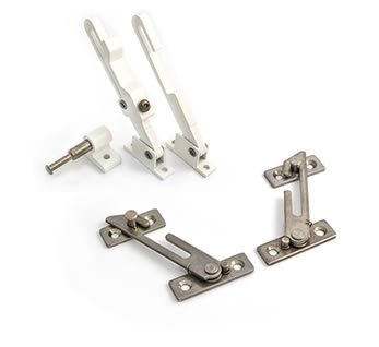 Casement window restrictors