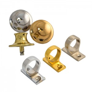 Decorative sash window hardware - includes sash buttons and ring pulls
