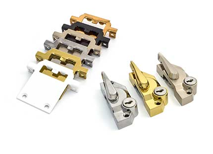 Sash window locks and keeps