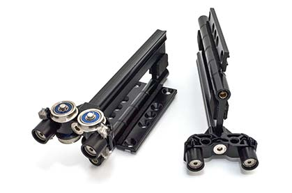 Rollers with top guides