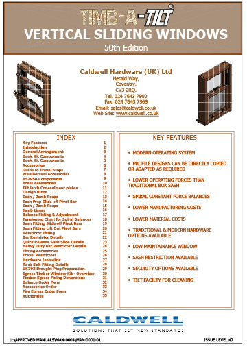 Timb-A-Tilt Fabricators Manual